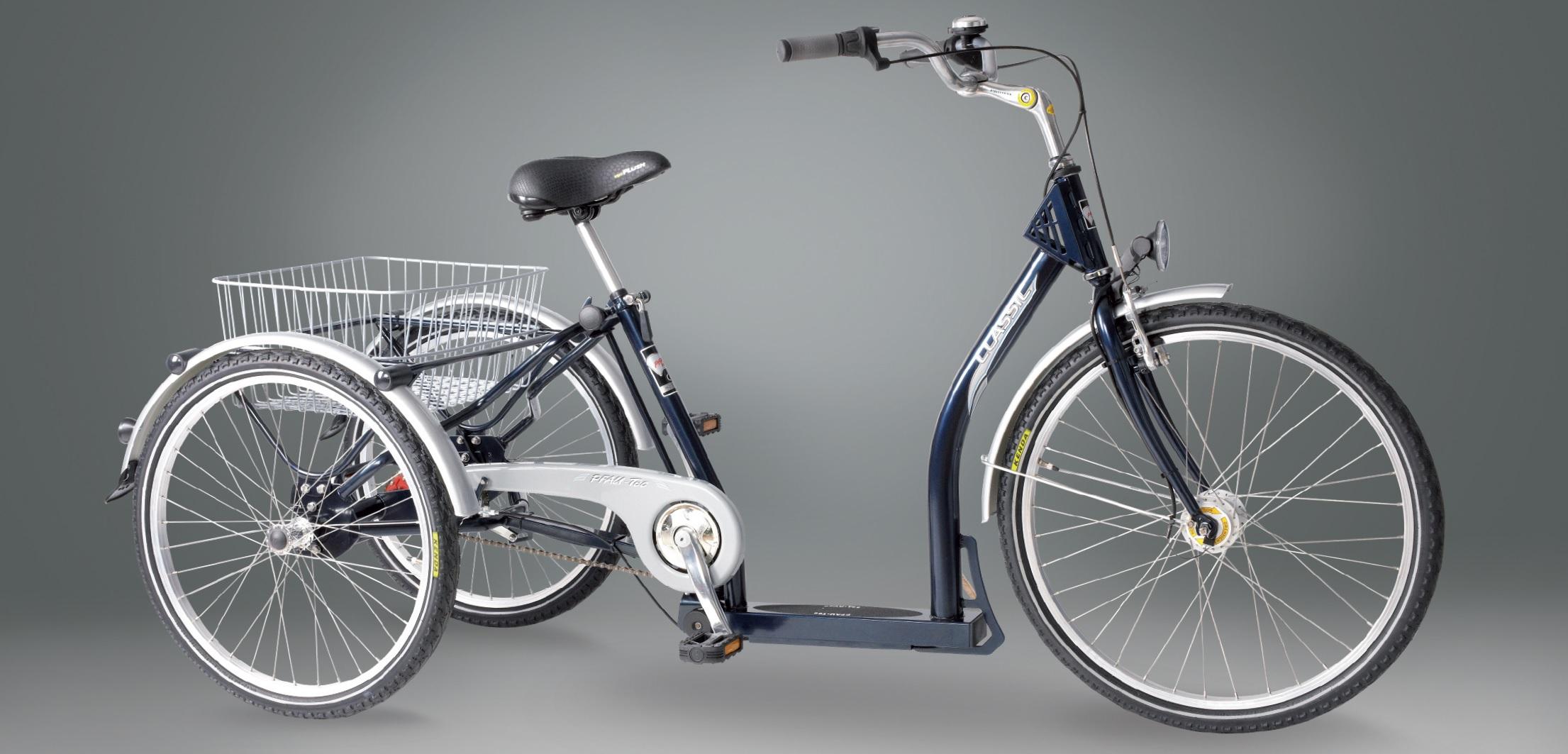 Dreirad Elegance in dunkelblau