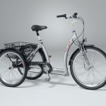 Dreirad Special in silber